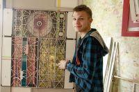 Никита Жданов учится в школе, но уже оставил заметный след в иркутской живописи.