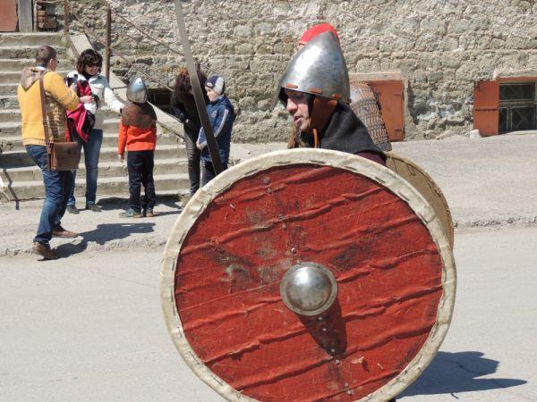 Таким было облачение отважного скандинавского воина.