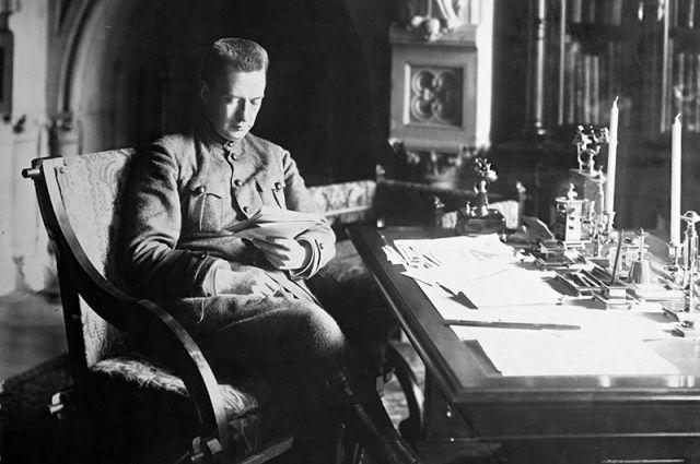А. Ф. Керенский. Вторая половина 1917 года.