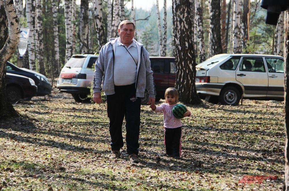 В лес уже пешком не ходят…