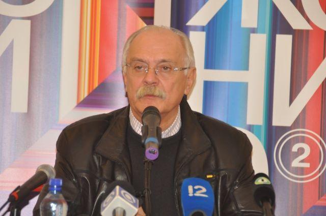 Никита Михалков на кинофестивале «Движение».