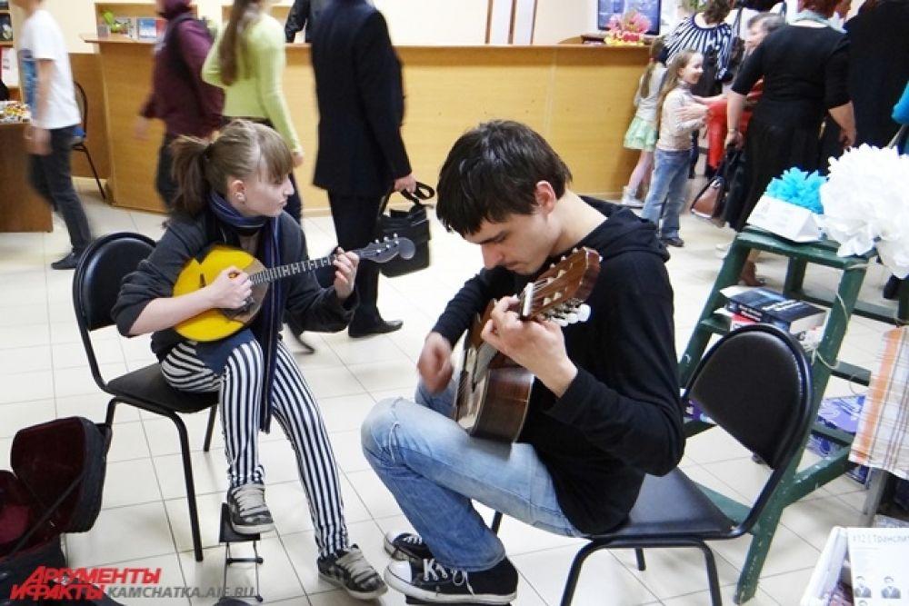 Студенты 3 курса Камчатского колледжа искусств.