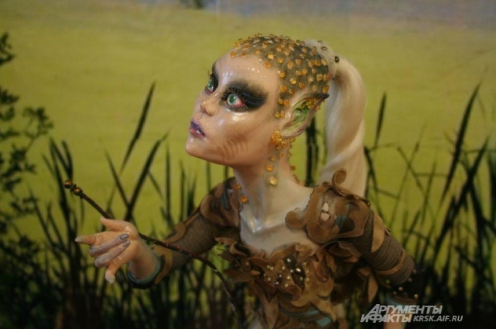 Уникальные куклы сделаны руками.
