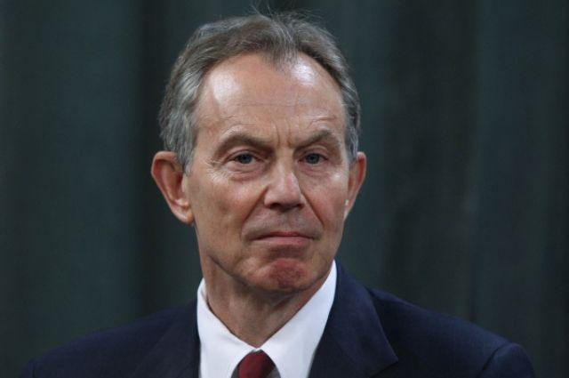 Экс-премьер Великобритании Тони Блэр.