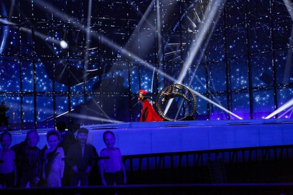 Репетиция Марии Яремчук на Евровидении-2014