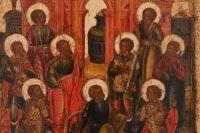 Девять мучеников Кизических. Фрагмент.
