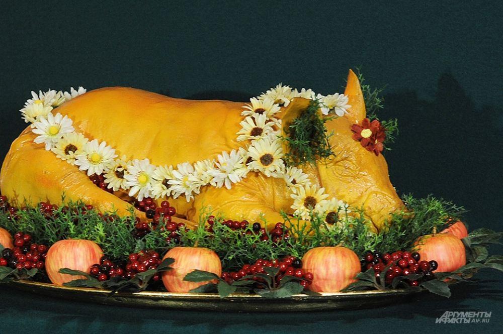 Блюда, представленные в экспозиции, выглядят в точности так, как они подавались к царскому столу.