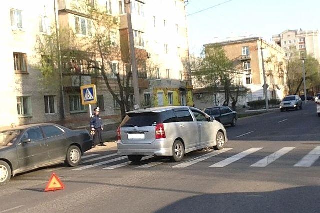 ДТП в Уссурийске.