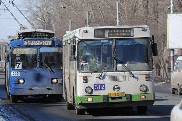 Движение автобусов на 1 мая