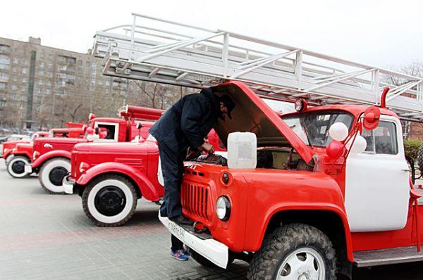 Подготовка к автопробегу.