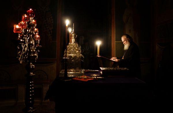 Патриарх служит в Троице-Сергиевой Лавре в первую неделю Великого Поста.