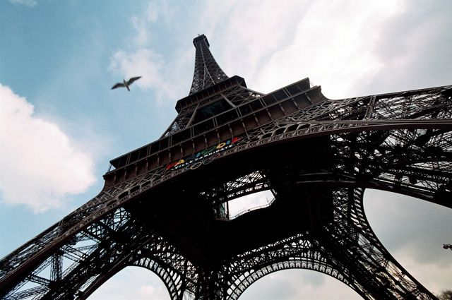 В Копейске появилась копия Эйфелевой башни. Фото