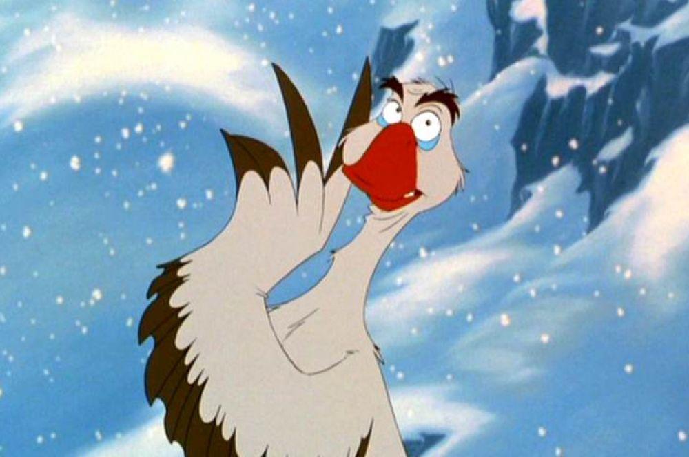 В 1995 году актёр озвучил русского полярного гуся Бориса в семейном мультфильме студии Universal «Балто».