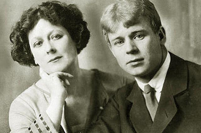 Сергей Есенин и Айседора Дункан, 1923 год.