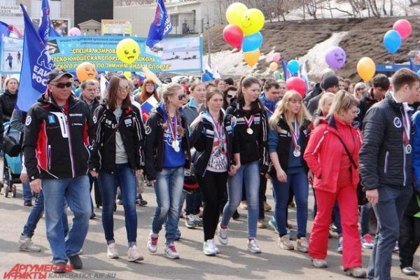 Участники сочинской олимпиады.