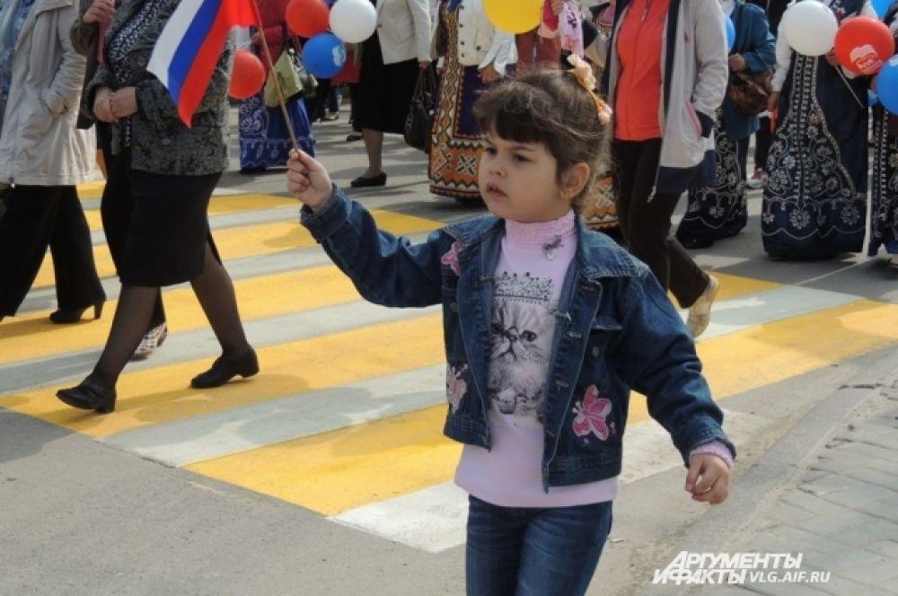 Вместо детского сада – на демонстрацию.
