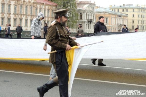 Представитель Имперского движения оделся в военную форму