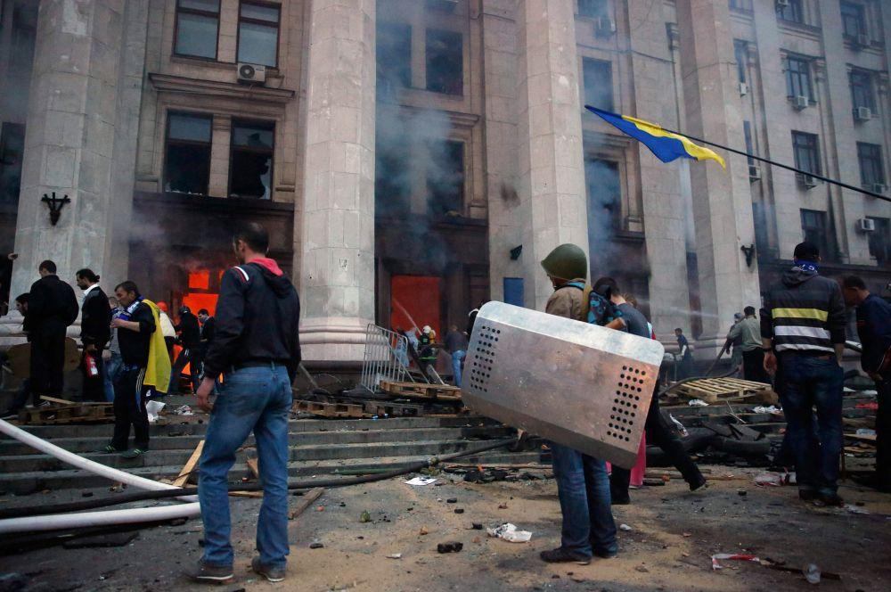 В связи с этими событиями в Одессе объявлен трёхдневный траур.