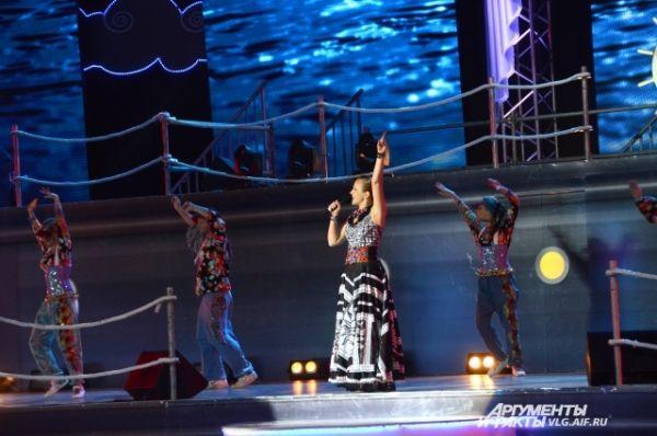 В концерте приняли участие лучшие волгоградские коллективы, лауреаты Дельфийских игр прошлых лет, члены команды 2014 года и другие артисты.