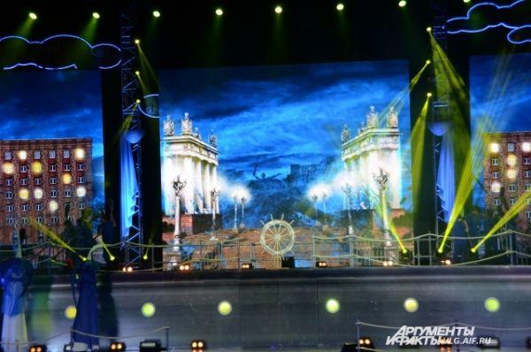 Трансляцию Официальной церемонии открытия также можно было смотреть в прямом эфире на интернет-телевидении «ДЕЛЬФИК.ТВ».