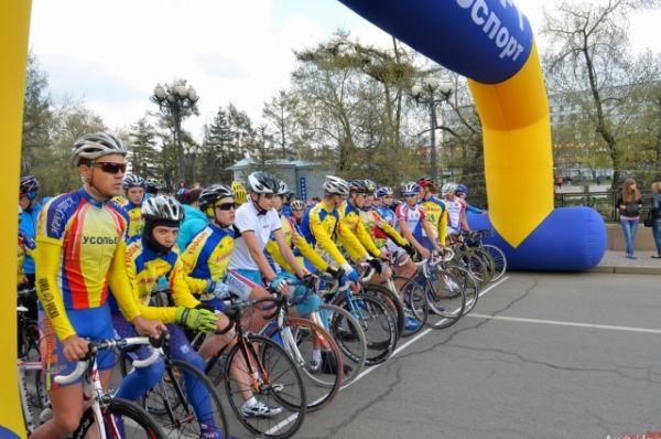 Велосезон-2014 открывали спортсмены с разных городов Иркутской области.