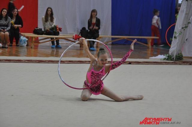 В Омске пройдёт чемпионат по художественной гимнастике.