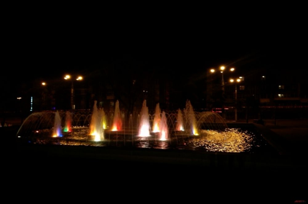Полюбоваться фонтанами может каждый!