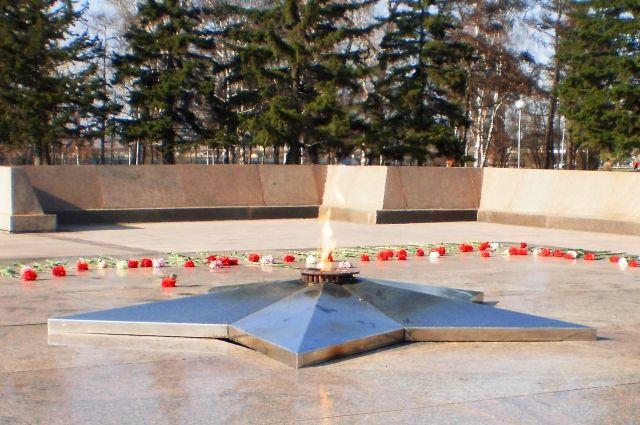 Акция «Пламя гордости за Победу» стартует от мемориала «Вечный огонь».
