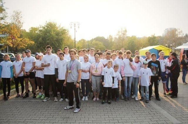 Участники проекта «Беги за Мной»