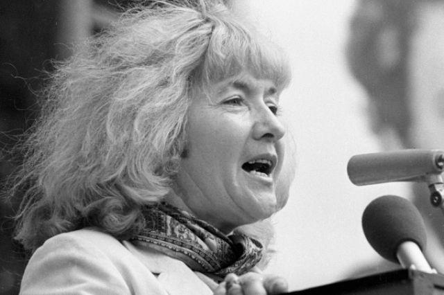 Поэтесса Юлия Друнина, 1982 год.