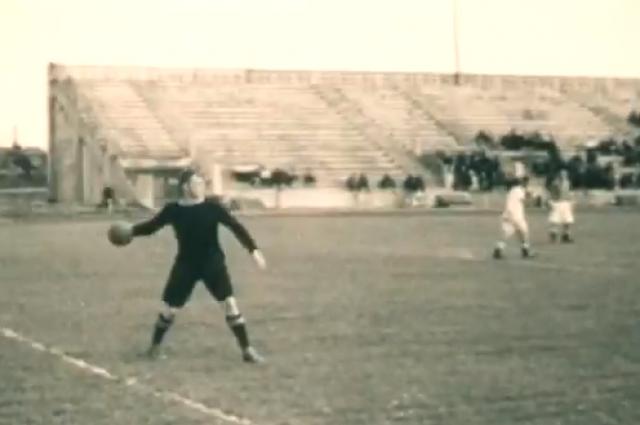 Футбол в блокадном Ленинграде. Кинохроника, 1942 год.