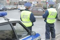 В Омске столкнулись два большегруза.