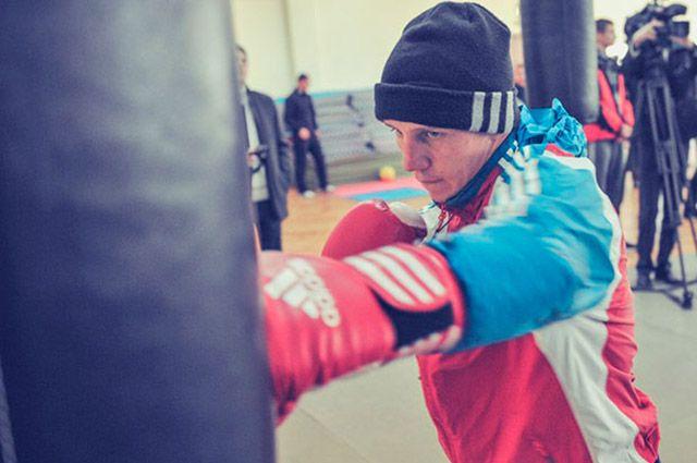 Боксерская тренировка
