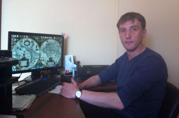 Роман Павлов, руководитель Красноярской геоархеологии.