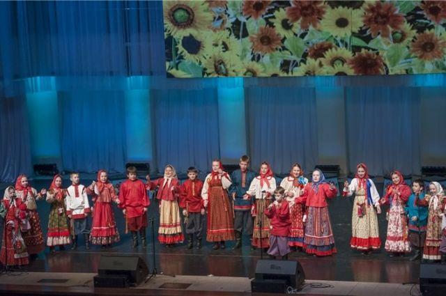 В Омске завершился конкурс русской песни.