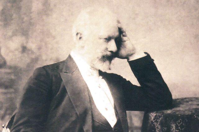 Петр Чайковский в Харькове. 1893 год. Фотопортрет А. Федецкого.