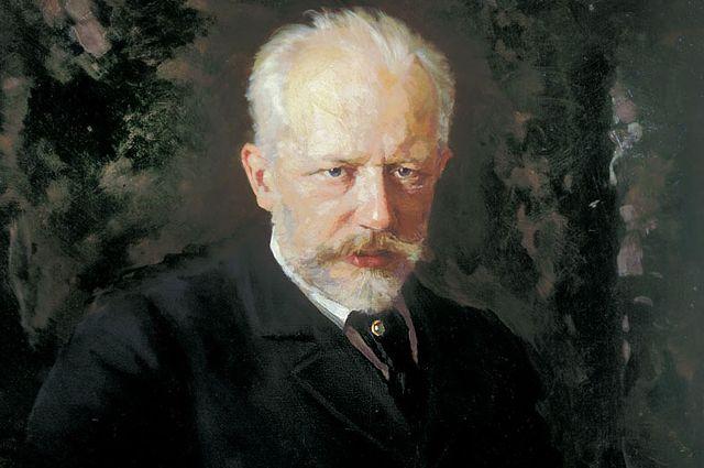 Петр Чайковский. Работа Николая Кузнецова. 1893 год. Последний портрет композитора.
