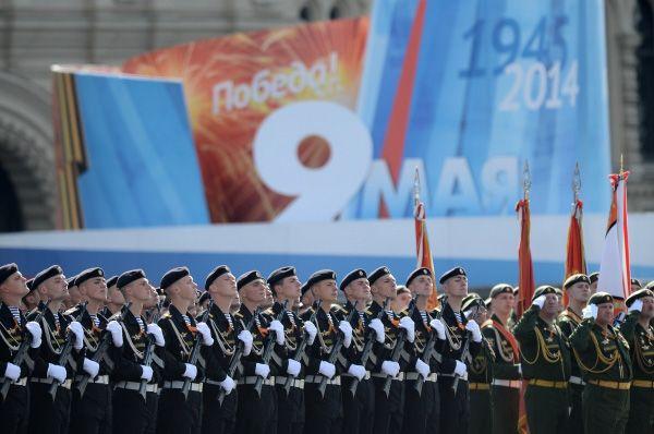Прежде на Красной площади уже состоялись две репетиции, однако они обе были вечерними.