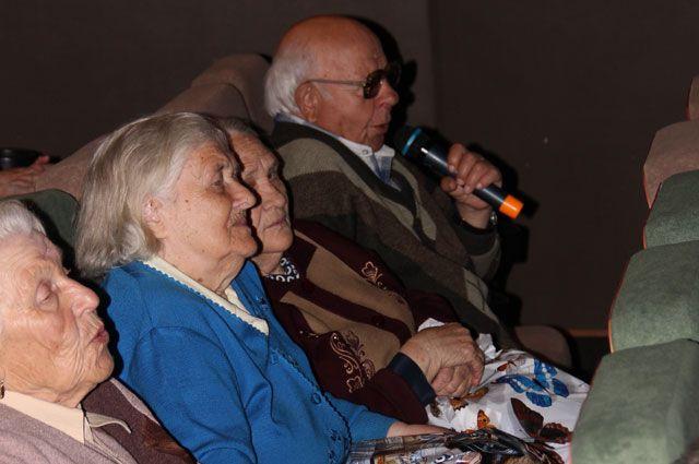 В праздничном мероприятии принимали участие и сами ветераны.