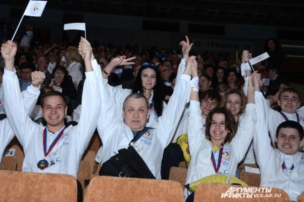 Зрителями закрытия стали участники и гости проекта «Дельфийский Волгоград-2014» - всего около 3000 человек.