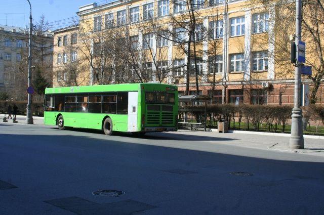 В Красноярске маршрут автобуса