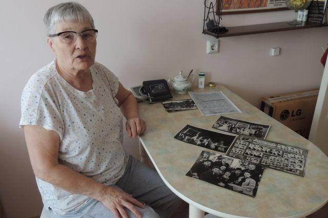 Люция Петровна внесла свой вклад в Победу над фашизмом.