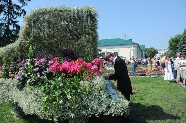 В Омске регулярно проходит выставка «Флора».