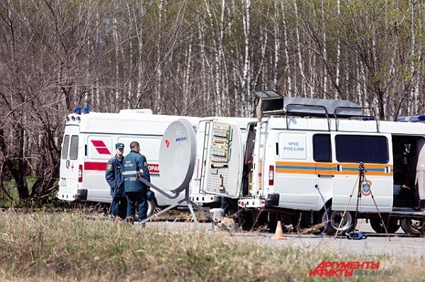 В Главном управлении МЧС России по Новосибирской области развернут оперативный штаб для ликвидации последствий взрыва.