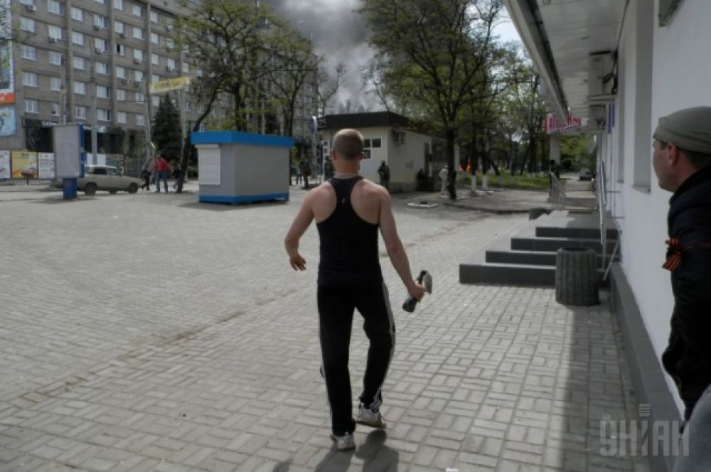 АТО в Краматорске
