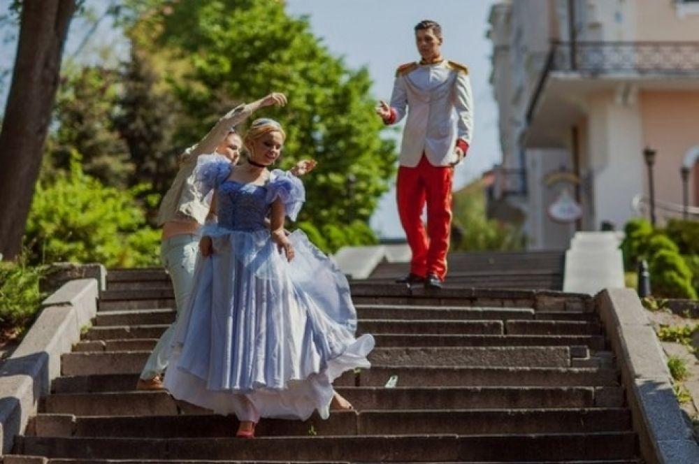 Лилия Ребрик и Никита Добрынин превратились в Принца и Золушку