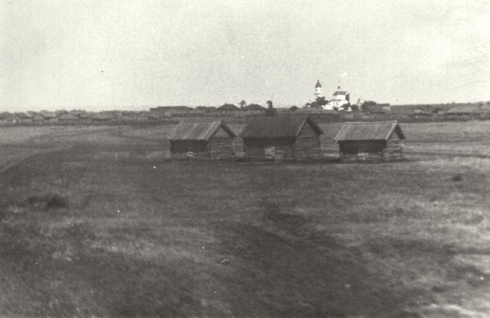 Вид на село Архангельское.