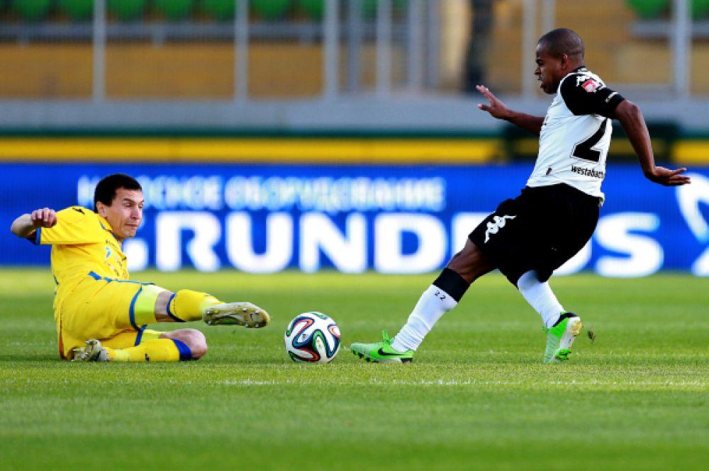 Финальный матч проходил на стадионе «Анжи-Арена» в Каспийске.