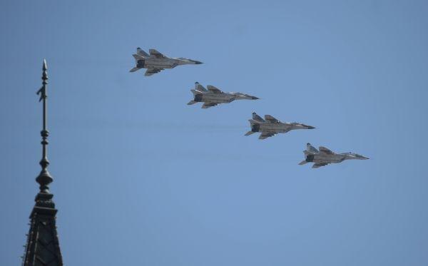 Истребители МиГ-29СМТ.