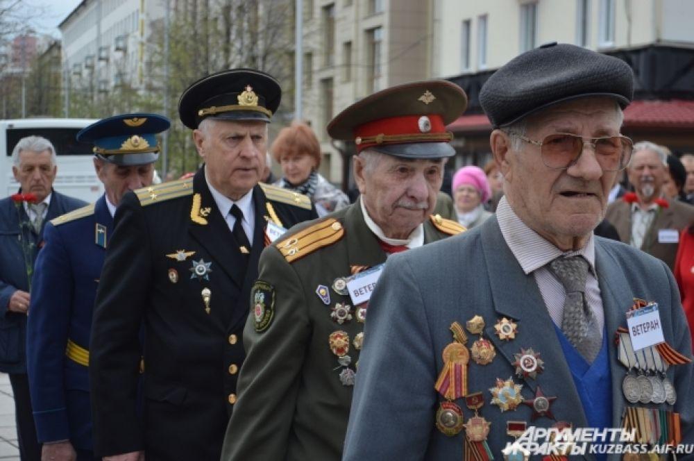 Память своих павших боевых товарищей почтили и ветераны войны.